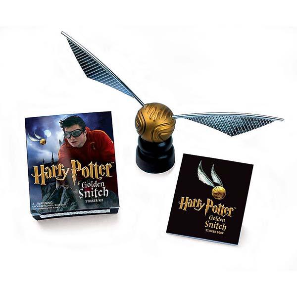 Harry Potter Snitch dorada